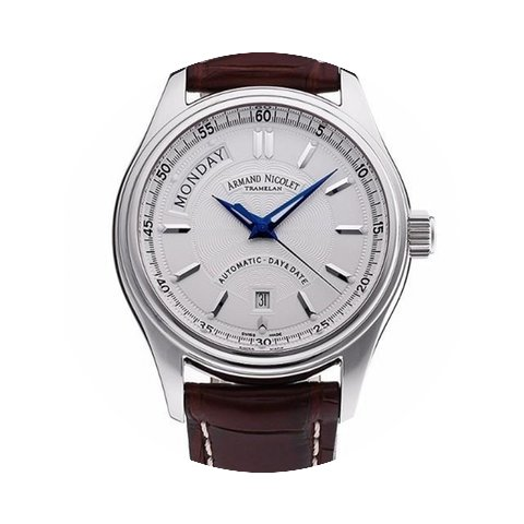 Armand Nicolet M02 Day-Date 9141A-AG-P14...