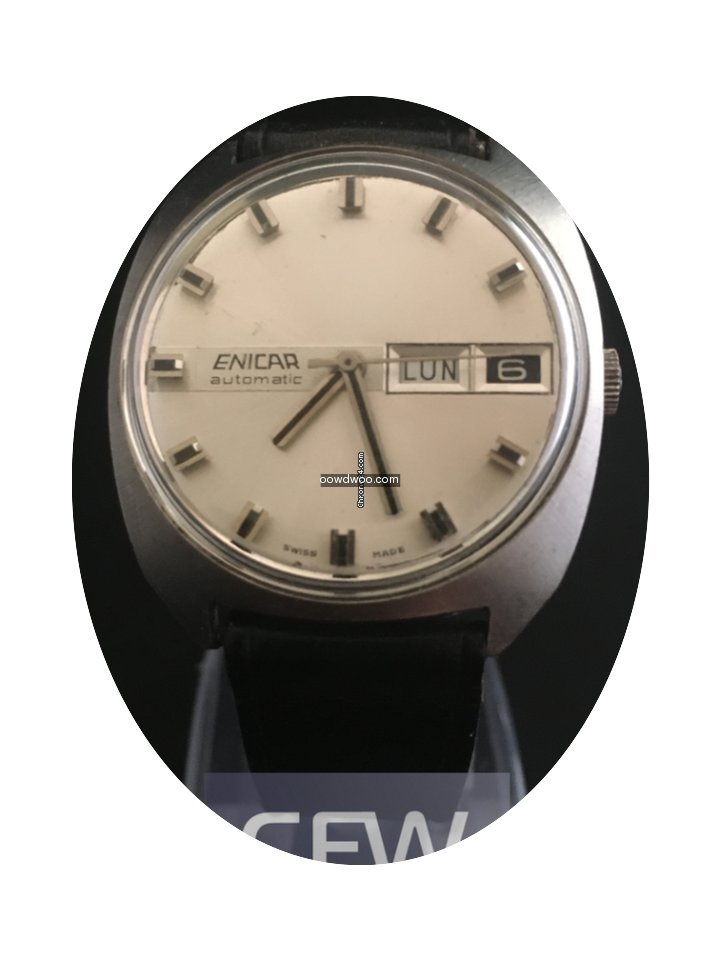 Enicar Day-Date Automatic...