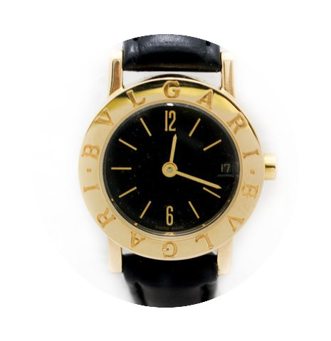 Bulgari Authentic Unisex BB 33 GL 18K Ye...