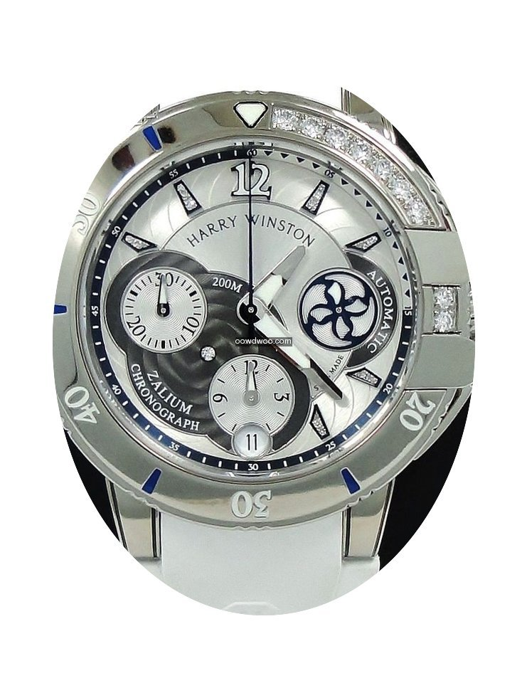 Harry Winston Ocean Sport Chrongraph Zal...