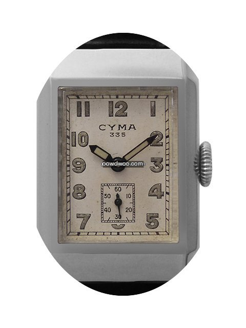 Cyma 335 with rare 3 Day Power Reserve...