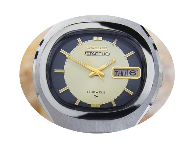 Seiko 5 ACTUS AUTOMATIC 1968 21 JEWELS S...