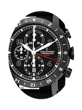 Chronoswiss Men's'Time Master' Black Dia...