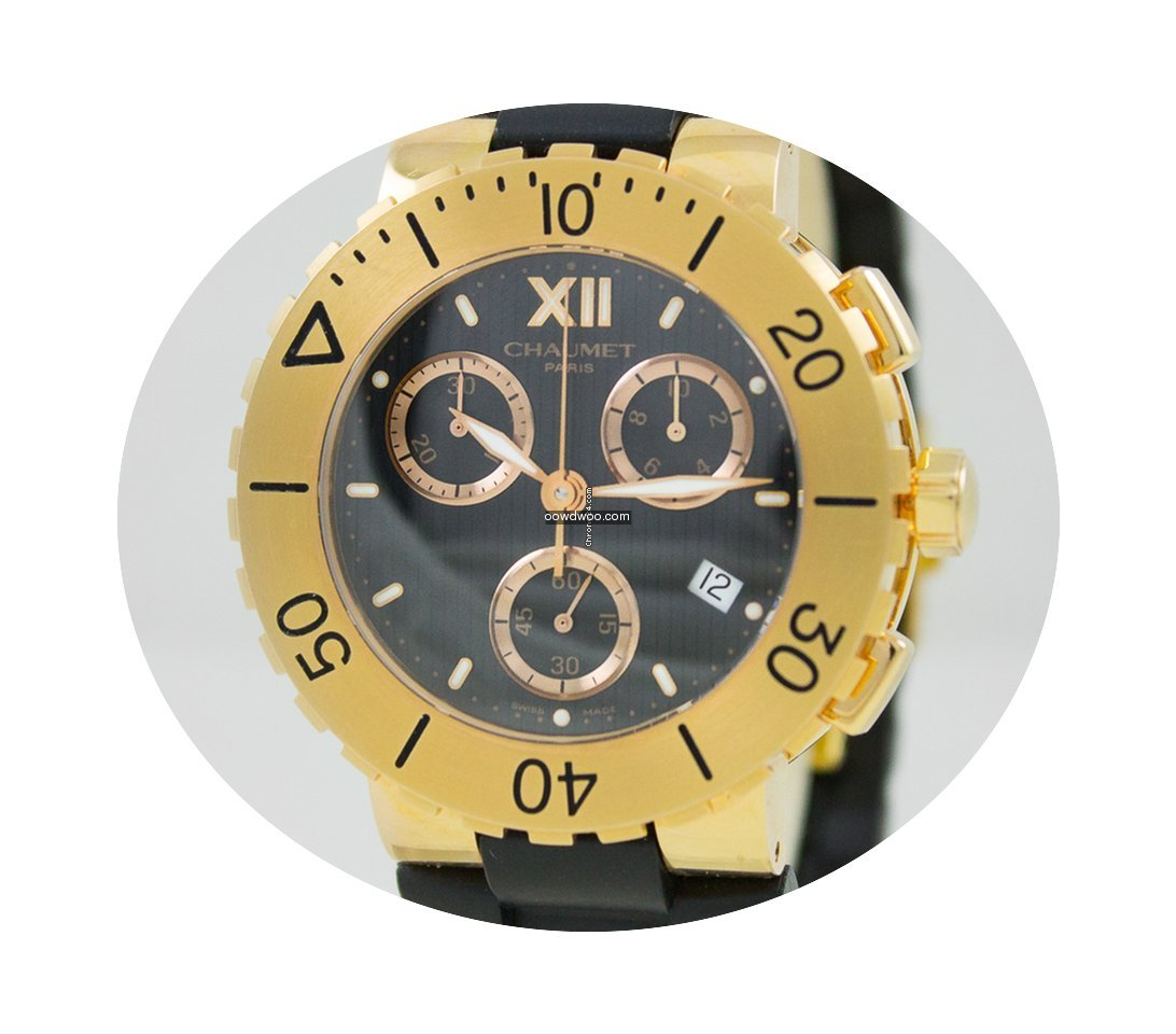 Chaumet Class One Chrono 18k Gold...