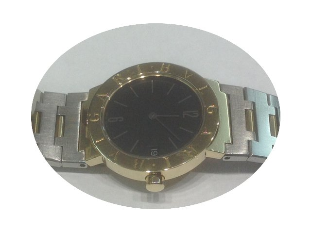 Bulgari BB30 GSD yellow gold and stainle...