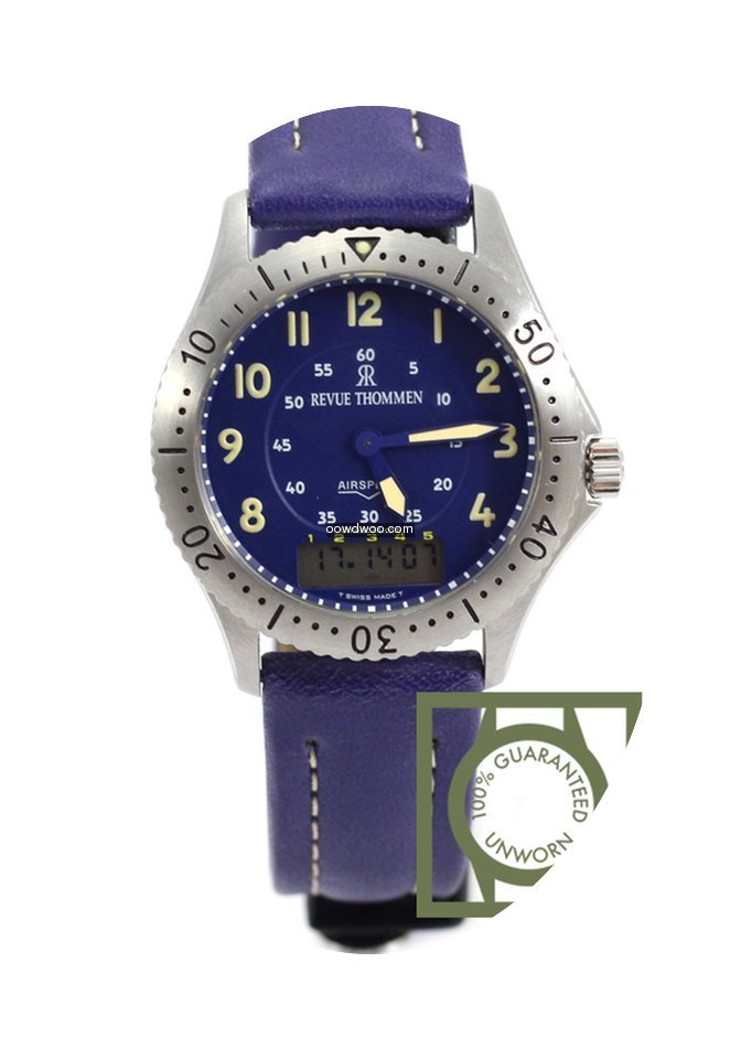 Revue Thommen Airspeed Multifunctions 45...