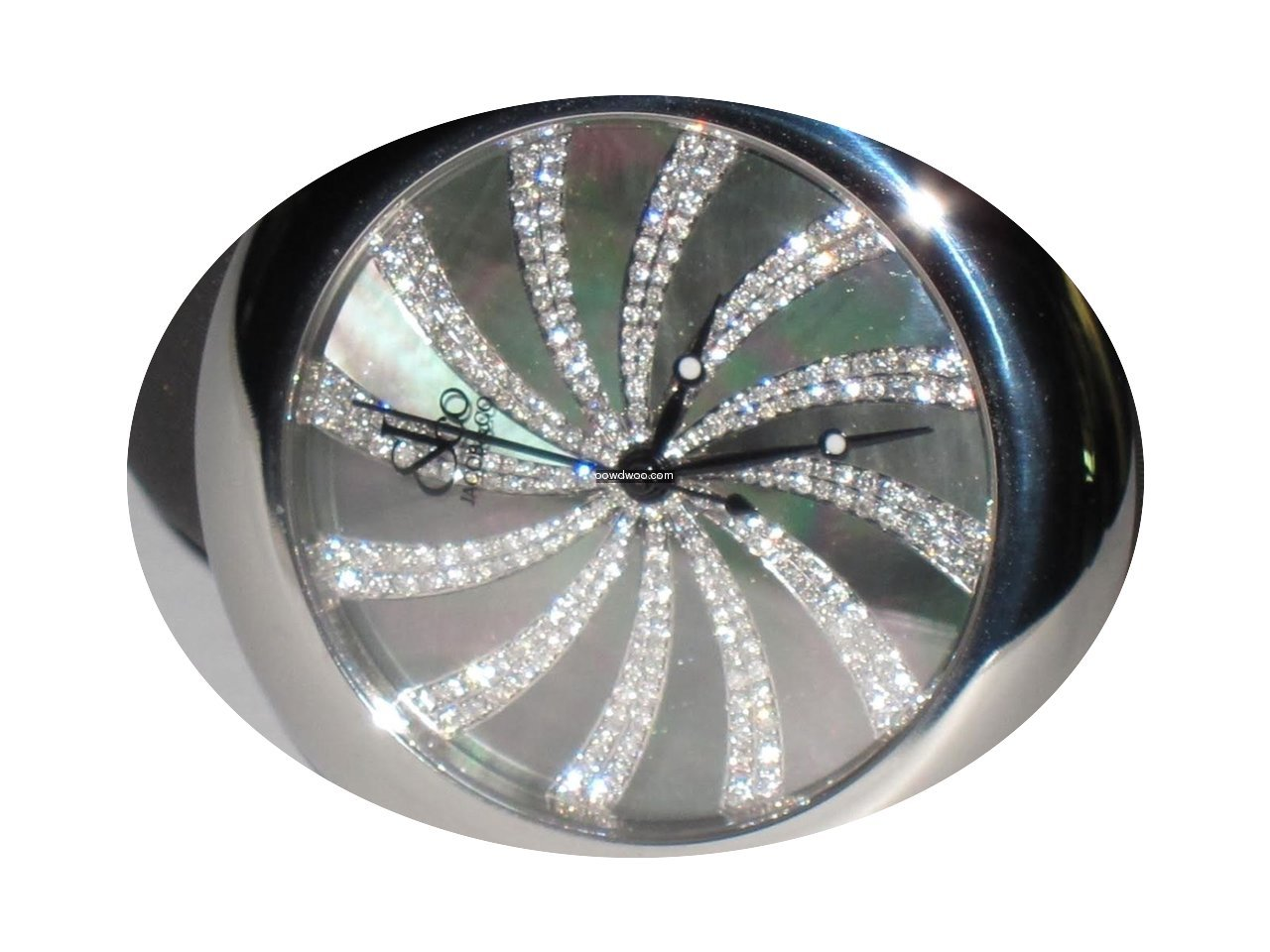 Jacob & Co. JC Swirling Diamond 44mm Sta...