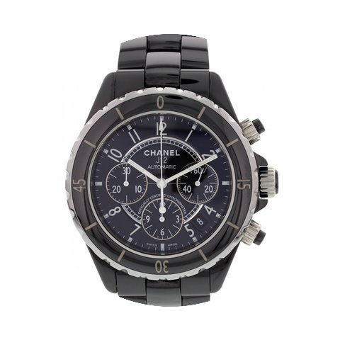 Chanel J12 Ceramic Chronograph Watch K.N...