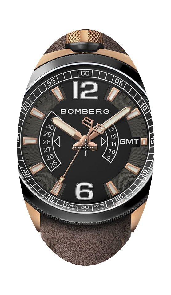 Bomberg Bolt-68 GMT Bicolor BS45GMTTT.00...