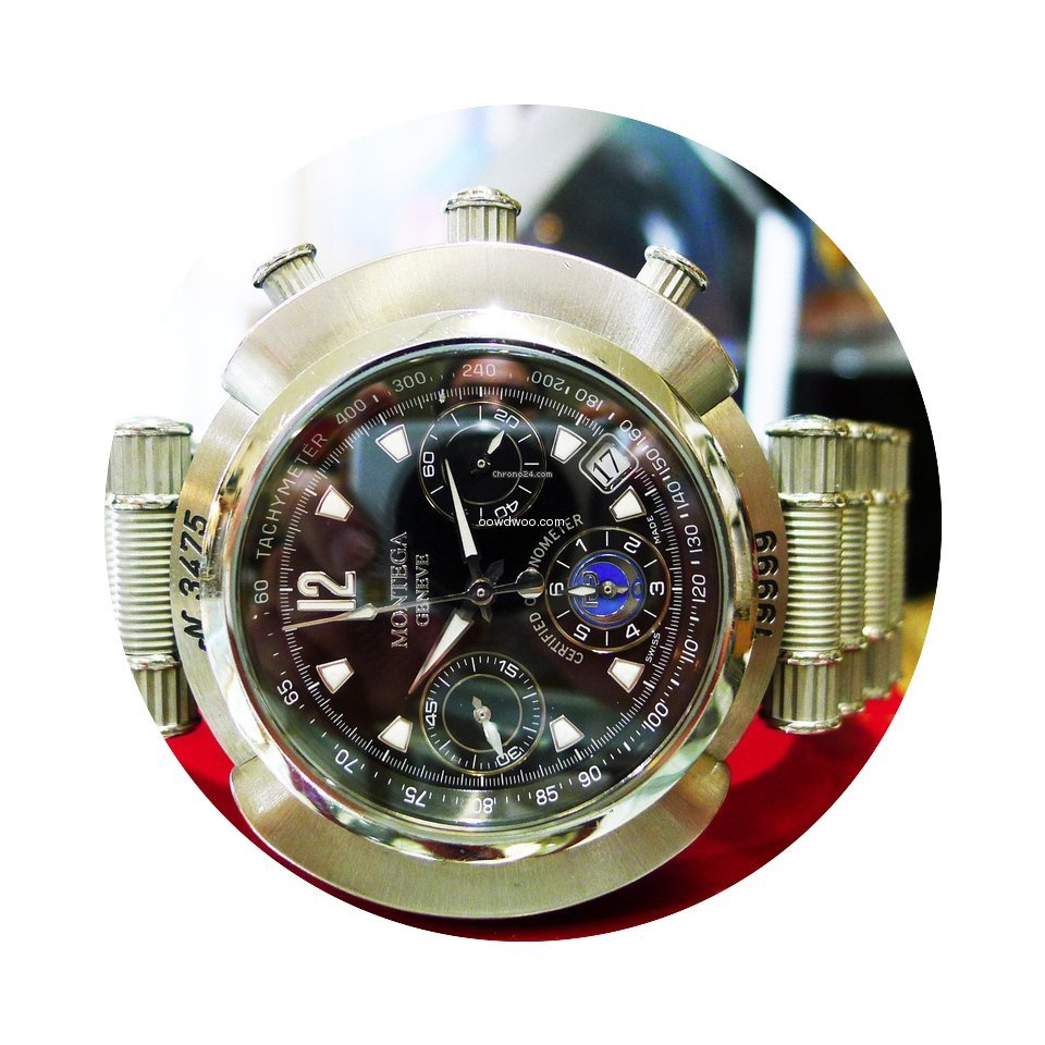 Montega Geneve Mc01 Stainless Steel Chro...