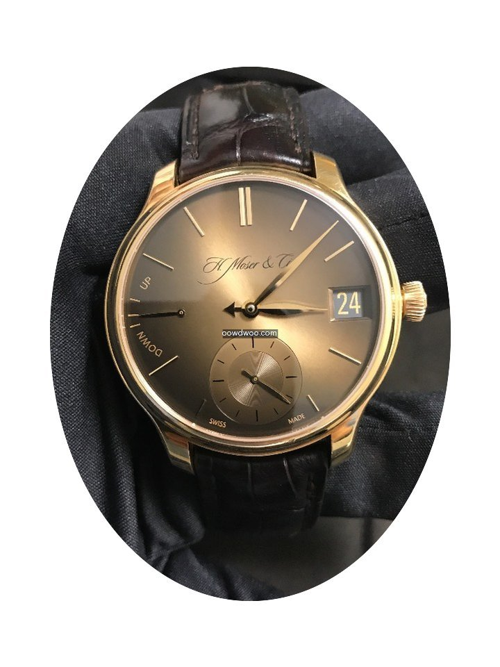 H.Moser & Cie. PERPETUAL GOLDEN EDITION...