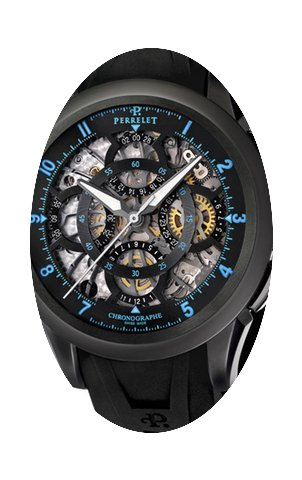 Perrelet Skeleton Chronograph Stainless ...