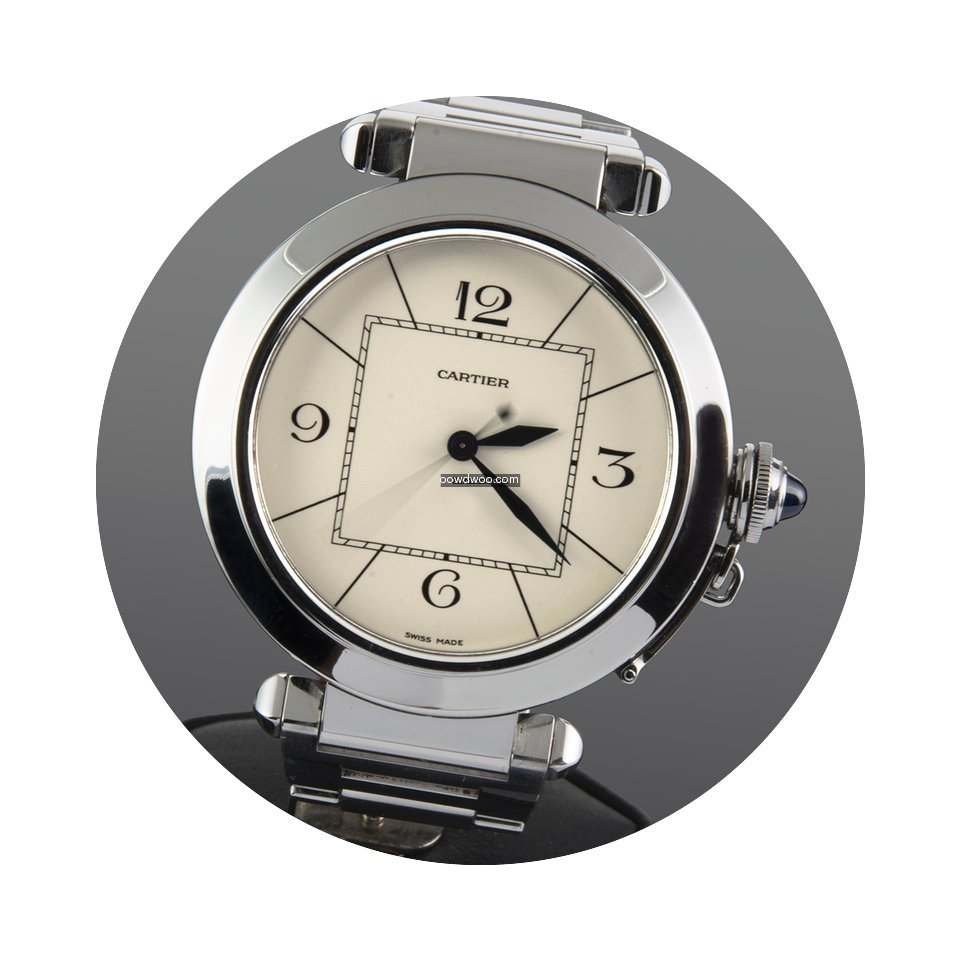 Cartier PASHA 42 MM ACERO...