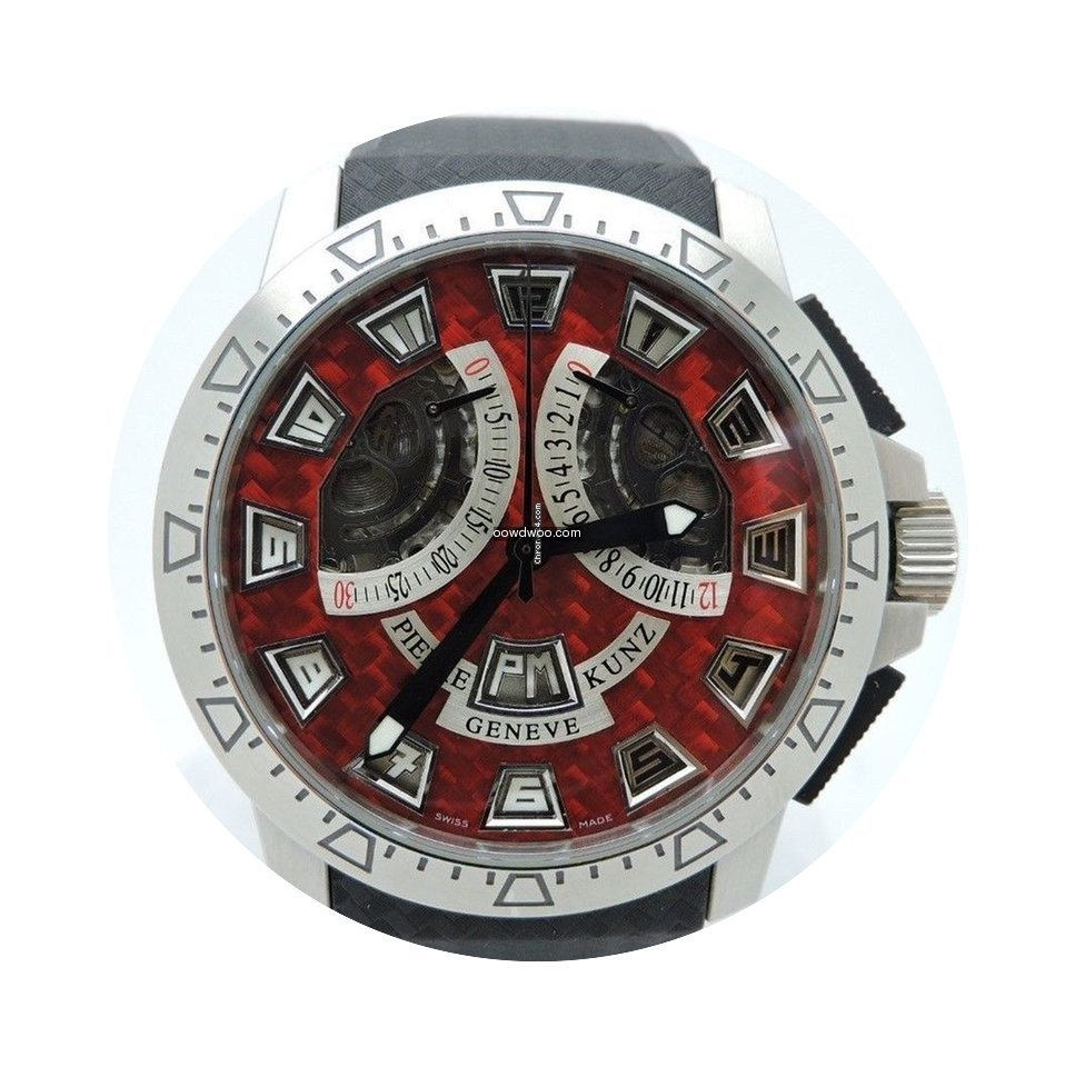 Pierre Kunz CHRONO SPORT RED PACKAGE G40...