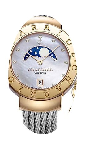 Charriol St Tropez Moonphase...