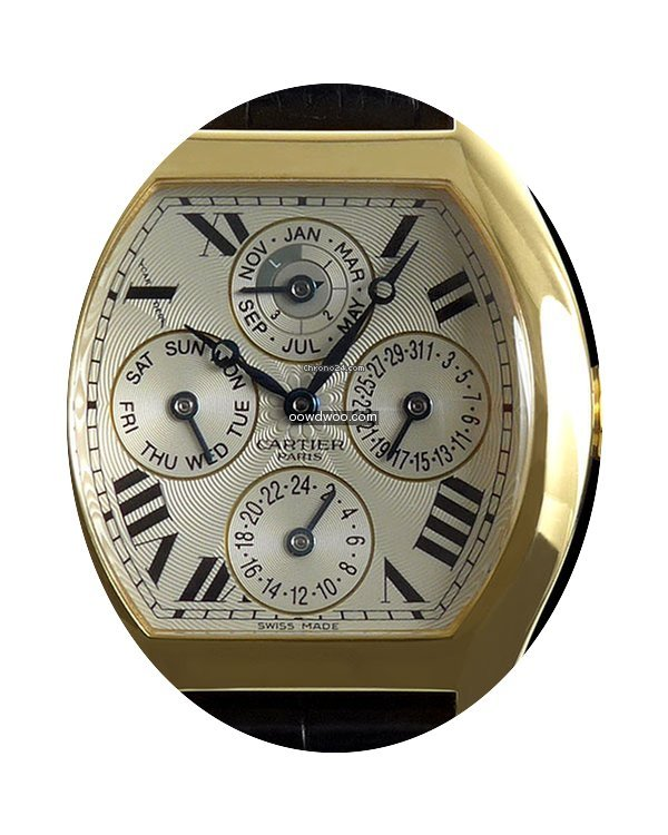 Cartier Paris Tortue Automatic Perpetual...