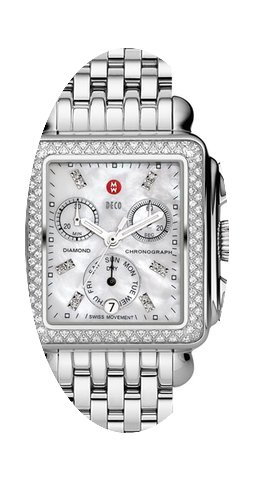 Michele Signature Deco Ladies Watch...