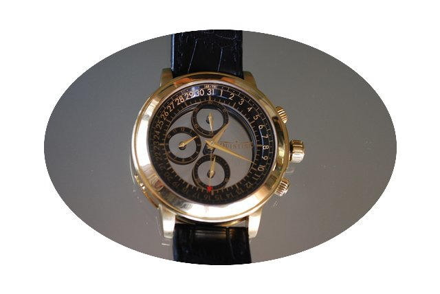Quinting Mysterious Chronograph QGL55...