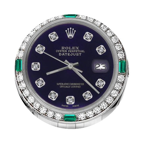 Rolex Ladies Rolex 26mm Datejust Purple ...