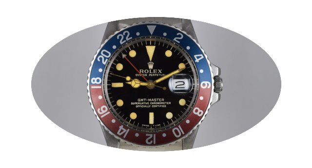 Rolex GMT-Master 1675 Gilt glossy dial...