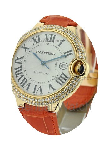 Cartier Ballon Bleu Large Size with Diam...