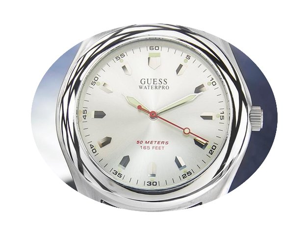 Guess Waterpro Beautiful Mens Stainless ...