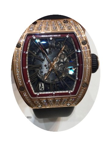 Richard Mille RM 023 with diamond Red Go...