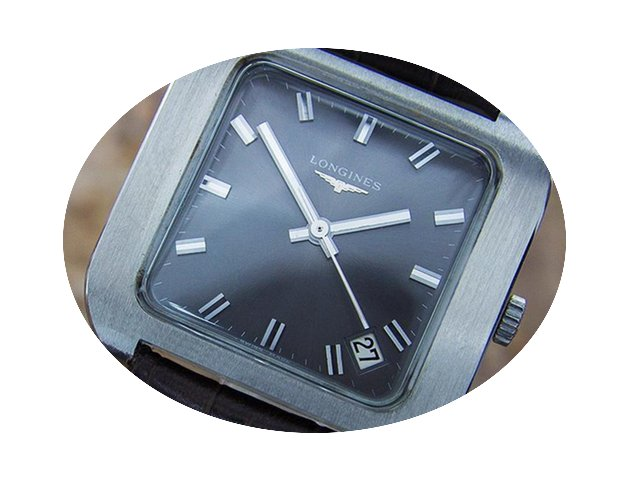 Longines Swiss Made Mens Stainless Steel...