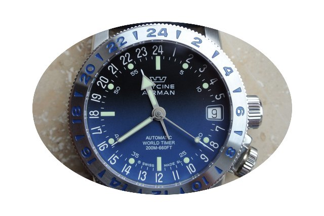 Glycine Airman 17 Ref. 3865...