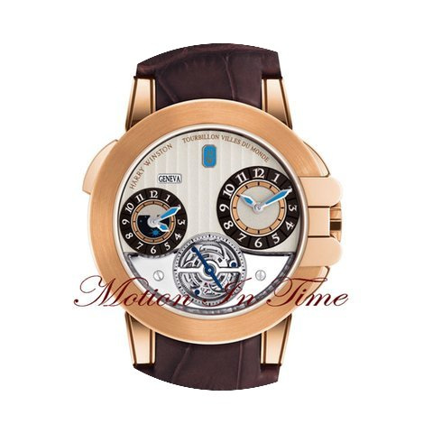 Harry Winston Ocean Tourbillon GMT Trave...