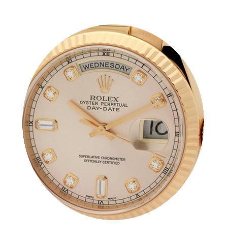Rolex Day-Date President 18k Rose Gold P...
