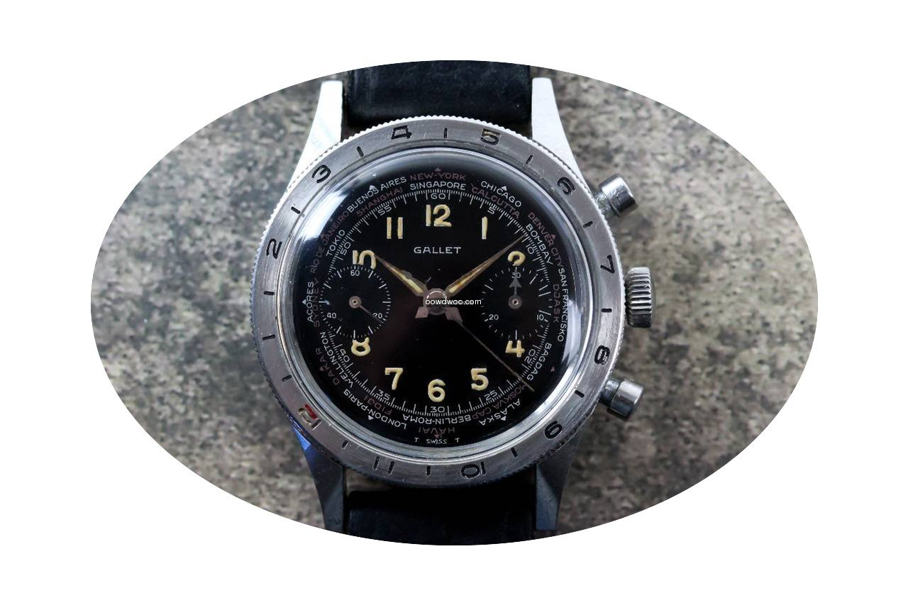 Gallet Vintage Flight Flying Officer Chr...