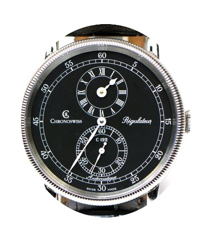 Chronoswiss Regulateur CH1223 38mm Steel...