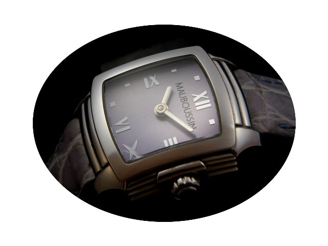 Mauboussin Ladie's Square Watch R.908...