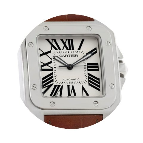 Cartier Santos 100 Automatic Mens Watch ...