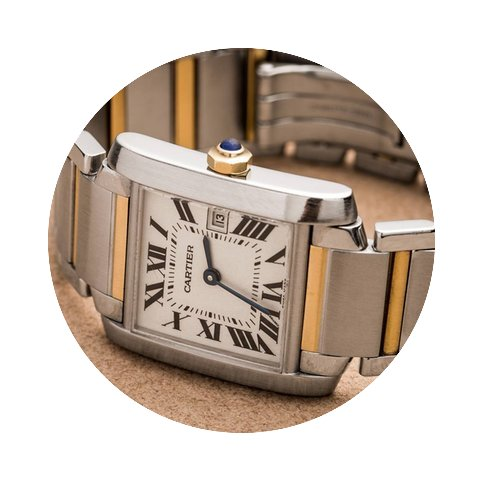 Cartier Tank Francaise Vintage Watch...