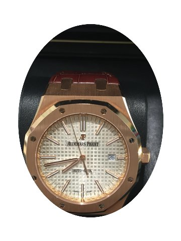 Audemars Piguet Royal Oak 18k Rose Gold...