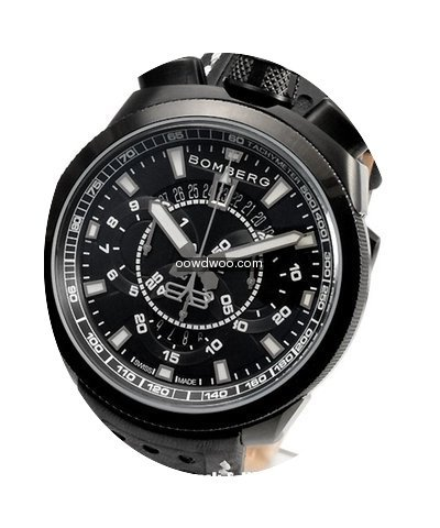 Bomberg Bolt-68 Black Chronograph...