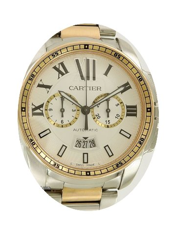 Cartier Calibre Chronograph Rose Gold/St...