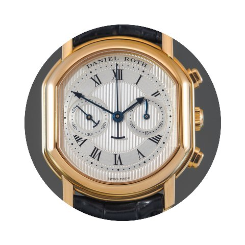 Daniel Roth Masters 18K Gold Chronograph...