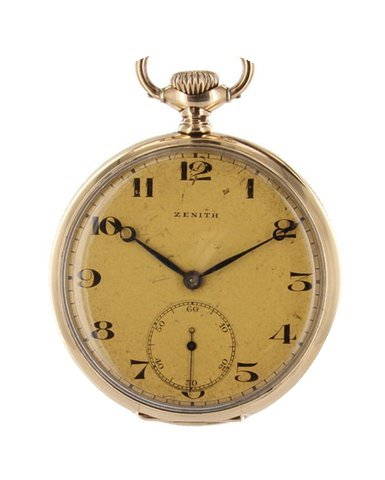 Zenith Pocket Watch Gold...