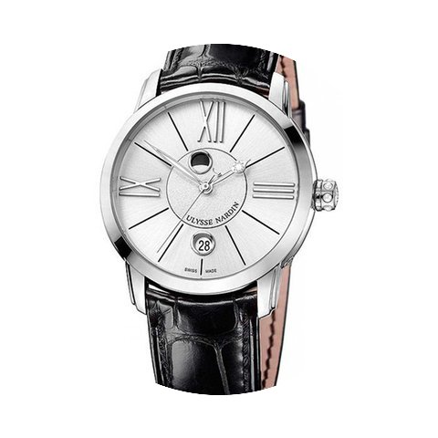 Ulysse Nardin Classico Luna Stainless St...