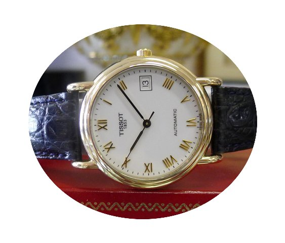 Tissot 1853 Automatic 18k Yellow Gold Dr...