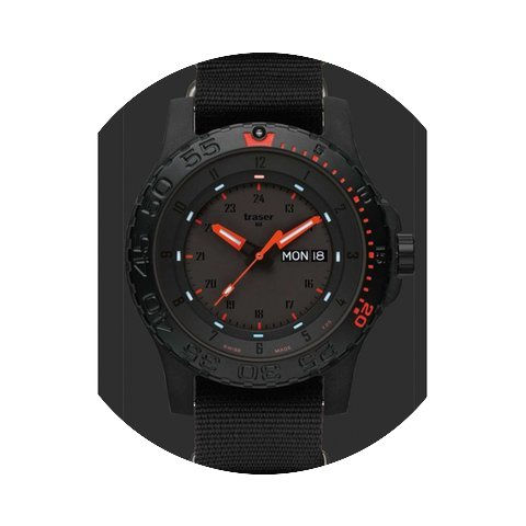 Traser Red Combat Herrenuhr 100263...