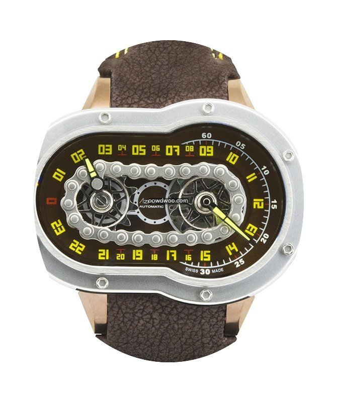Azimuth Crazy Rider Auto Watch Motorcycl...