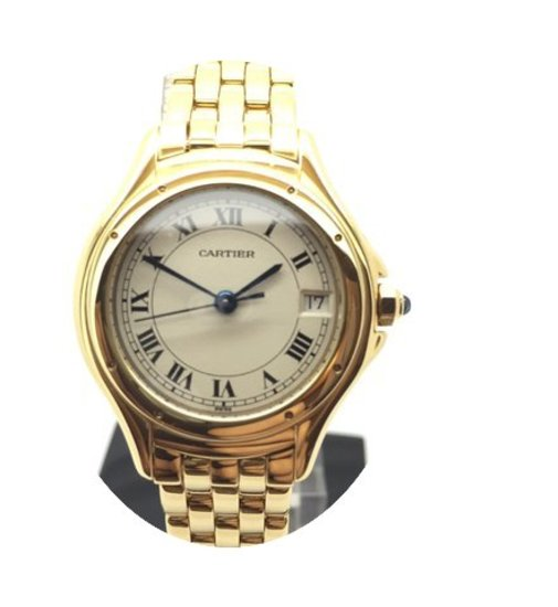 Cartier 18K GOLD Panthere Cougar...
