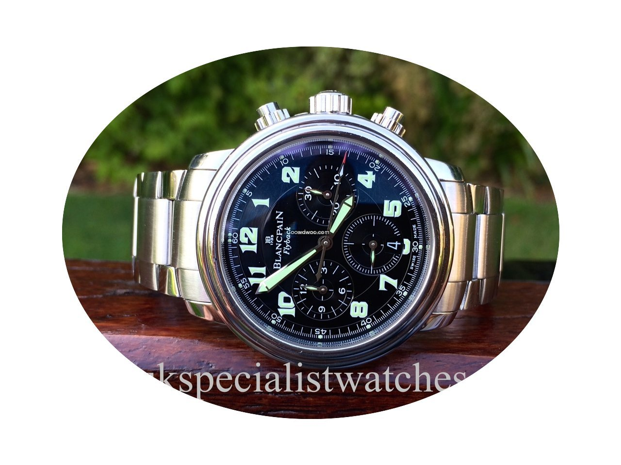 Blancpain Flyback Chronograph Leman...