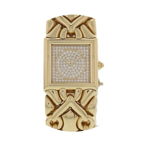Bulgari Ladies Parentesi 18k Yellow Gold...