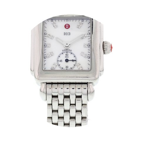 Michele Ladies Michele Deco 16 Diamond D...