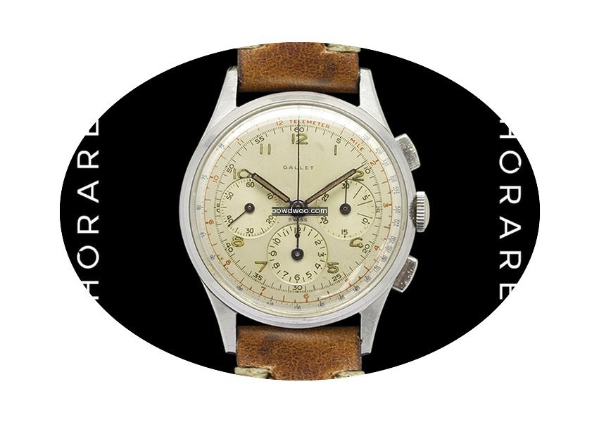 Gallet Multichron 12 Superb Excelsior Pa...